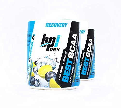 BPI Sports Best BCAA Blueberry Lemonade - Branch Chain Amino Acid Powder, Recovery and Muscle 10.58 Ounce (30 Servings) (2)