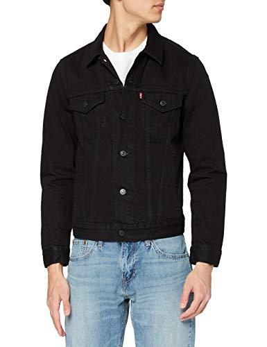Levi's The Trucker Jacket, Giacca in Jeans Uomo, Nero (Berk Trucker 0306), X-Small