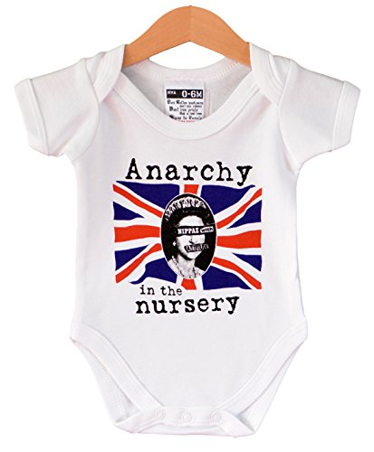 Chaleco de bebé con texto en inglés