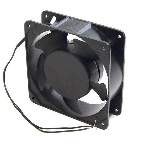 CABLEPELADO Ventilador para Armario Rack de 19 Negro