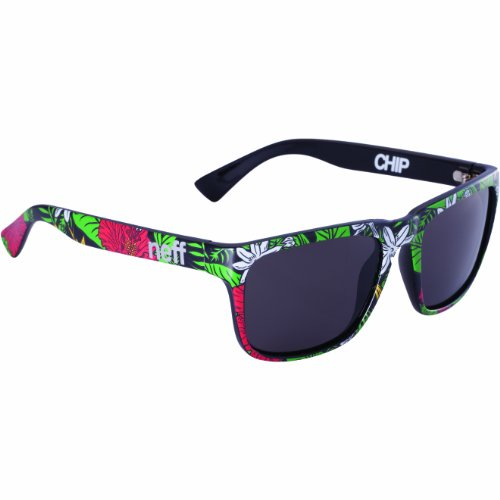 Neff Sonnenbrille Chip, Hibiscus, One Size