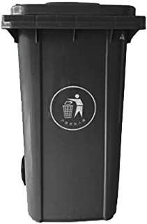 outdoor dustbins 100L/120L/240L Plastic Recycling Bin Classification Outdoor Pulley Garbage Bin Large Trash Can Community ...