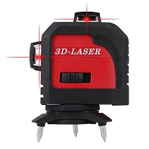 Fukuda フルラインレーザー墨出し器 3D LASER 12ライン MW-93T 360°垂直*2・360°水平*1 レーザー墨出し器 レーザーレベル 水平器