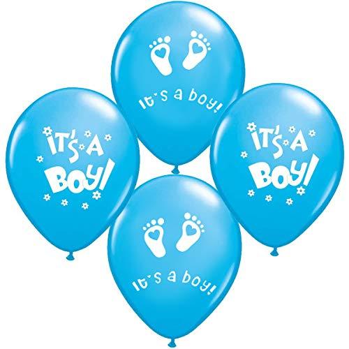 10 x Its a Boy Luftballons Babyshower Party , Babyballons , Babyparty , Pullerparty , Bebek