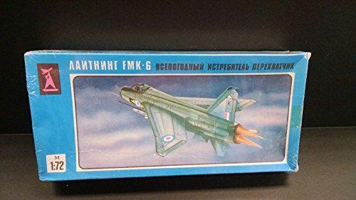 Russian USSR Lightning FMK-6 Fighter Jet RSAF new sealed model kit