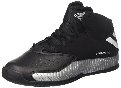 adidas Nxt Lvl SPD V, Zapatillas de Baloncesto Hombre, Negro (Negbas/Ftwbla/Plamet), 46 EU