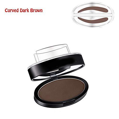 Augenbrauen-Stempel in Salonqualität, Premium Augenbrauen-Formstempel, für schöne Augenbrauen, Dunkelbraun dark coffee