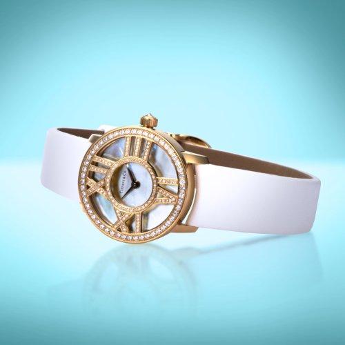 [ティファニー]腕時計AtlasCocktailRoundダイヤK18YGZ1900.10.50E91A40B並行輸入品ホワイト
