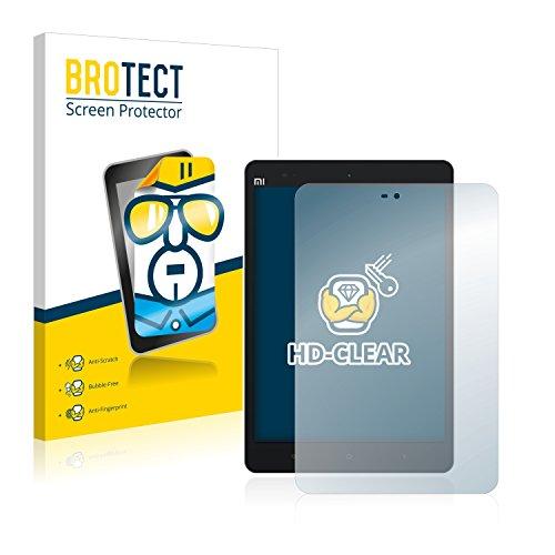 BROTECT Schutzfolie kompatibel mit Xiaomi Mi Pad 2 (2 Stück) klare Bildschirmschutz-Folie