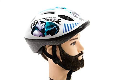 Stamp Nitro Motors - Casco de Ciclismo para niños