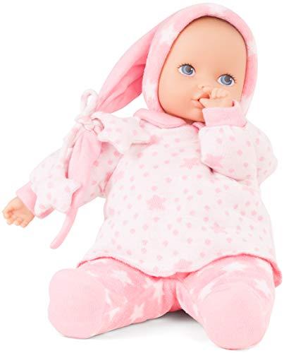 Götz 1791122 Baby Pure Sternenhimmel Puppe - 33 cm große Erstlingspuppe ohne Haare, Blaue Augen - waschbare Babypuppe - ab 0 Monaten Jahren