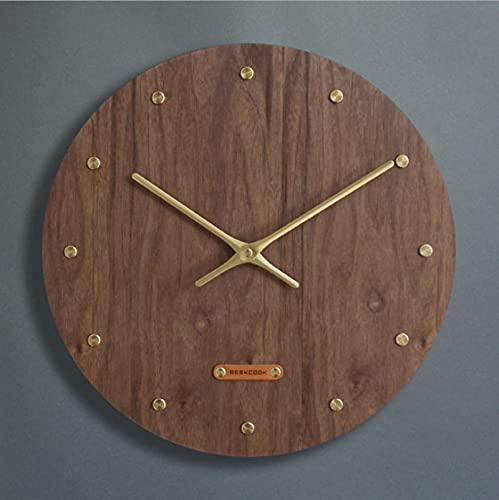 Reloj Chino Colgante Mudo De Sala De Estar Reloj De Cuarzo Arte Creativo Hogar Reloj Reloj Retro Retro Reloj De Madera