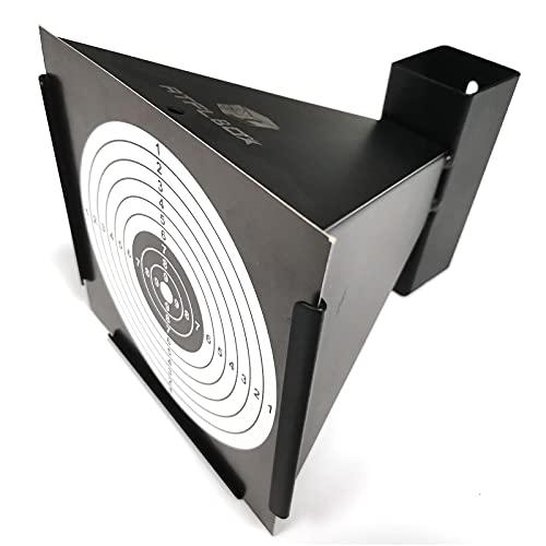 Atflbox BB Gun Trap with 50pcs Paper Target Bullet Catcher...