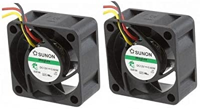 Dell DELL-3548-FANKIT 2x Quiet! Replacement Fans for Dell PowerConnect 3548 (M725K, GY466, H984F) 18dBA Noise (DELLDELL-3548-FANKIT )