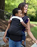 Boba Baby Carrier Classic 4GS - Backpack or Front Pack Baby Sling for 7 lb Infants and Toddlers up to 45 pounds (Classic 4GS - Slate)