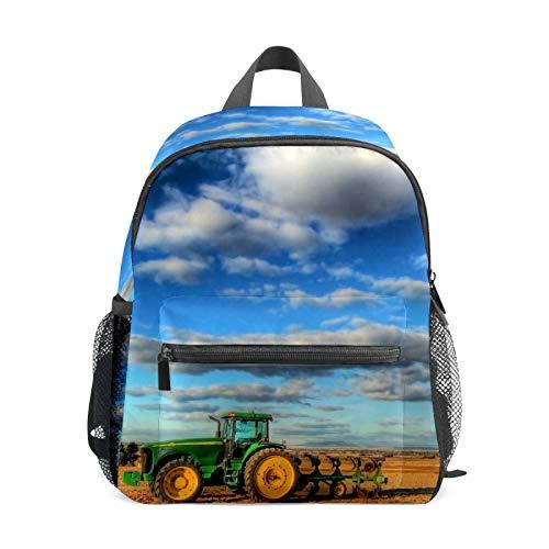Zaino del trattore per Ragazza Ragazzo Bambini Mini Zaino Da Viaggio Primario Studente Prescolare Bookbag Piccola Borsa Scuola