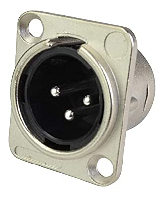 Cobra XLR Panel Socket Male 3 Pin