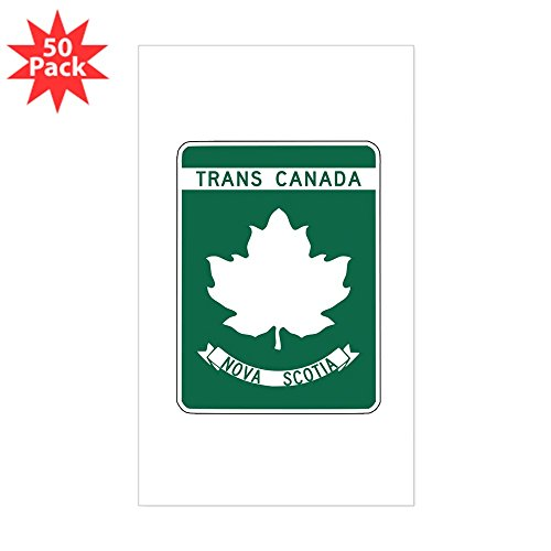CafePress - Trans-Canada Highway, Nova Scotia Sticker (Rectang - Sticker (Rectangle 50 pk)