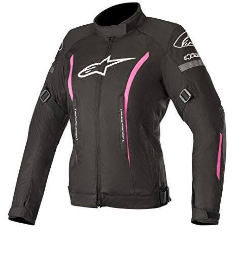 Alpinestars Chaqueta moto Stella Gunner V2 Wp Jacket Black Fuchsia, Negro/Fuchsia, M