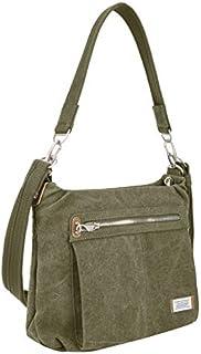 Travelon Anti-Theft Heritage Hobo Bag Cross Body, Sage, One Size