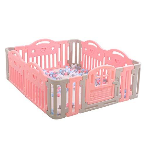 Relaxbx Barrière de bébé, barrière de Jeu en Plastique, Aire de Jeu pour Enfants 'S Activity Center Safety Play Baby Home Indoor Toddler Ramping Clôture