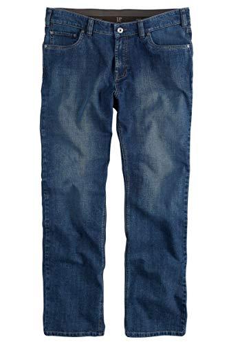 JP 1880 Herren große Größen bis 66, Jeans-Hose, 5-Pocket-Form, Denim Hose im Regular Fit, Stretch-Comfort, Baumwolle Blue Stone 60 703353 91-60