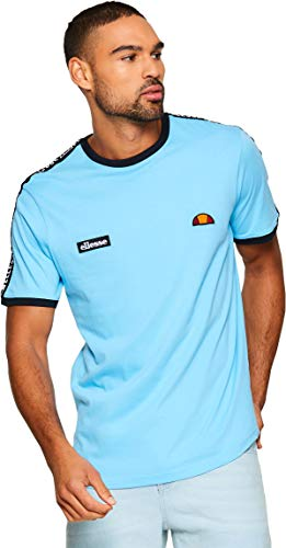 Ellesse Fede tee Camiseta, Hombre, Light Blue, M