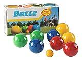 Sport-Thieme Boccia-Spiel mit lackierten Holzkugeln | Boule-Set aus 8 Kugeln, Zielkugel und Tragebox...