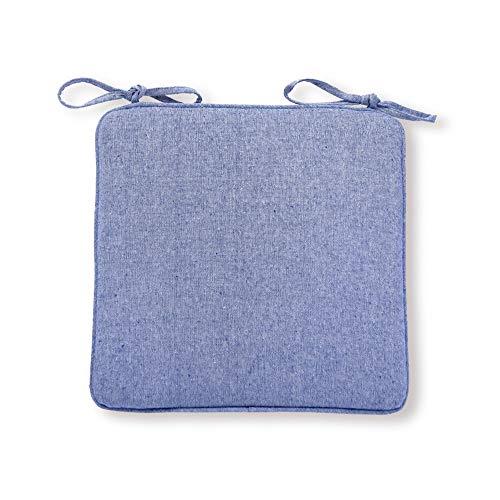 Cuscino quadrato in cotone e lino, stile giapponese, Tatami, ideale per attività all'aperto, campeggio, viaggi, ufficio, sedia (4 pezzi)