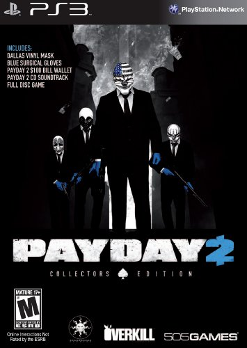 505 Games Payday 2 CE PS3 - Juego (PlayStation 3, Tirador, Rebellion)