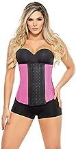 Ann Chery Metallic Shapeware 2046- 3hook Workout Faja - Waist Trainer -Pink,Large / US Size-36