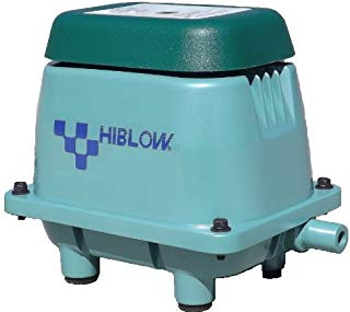 Aquaponics / Hydroponics / Koi Pond / Septic Aerator - Hiblow U.S.A. {model# HP20} offered by Bubblemac Aeration Products