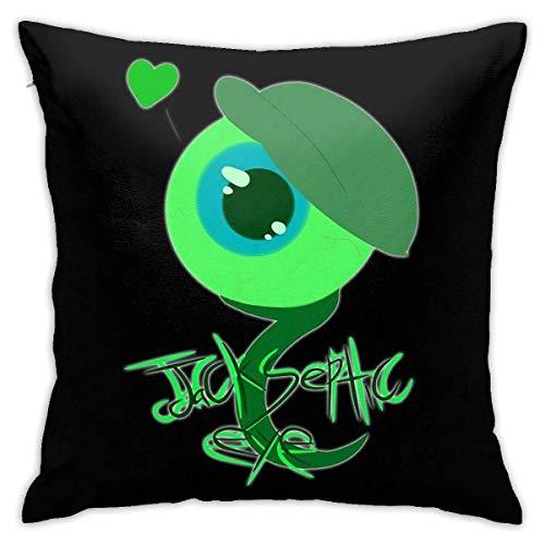 Ahdyr Funda de Almohada de Microfibra Ultra Suave Jack Septic Eye Youtubers Fundas de cojín Cojín Decorativo para sofá Funda de Almohada para Dormitorio 18 X 18 Pulgadas