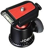 JOBY 自由雲台 ボールヘッド 3K クイックリリースプレート付属 JB01577-PKK ブラック/レッド