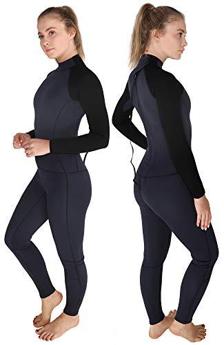 Long Neoprene Wetsuit