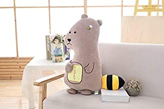 1Pc 45Cm 65Cm Cartoon Cow Crocodile Bear Plush Hold Pillow Cushion Stuffed Toy Wedding Celebration Gift Girl Boy Must Haves Friendship Gifts Girl S Favourite Superhero Cupcake Toppers Unboxing