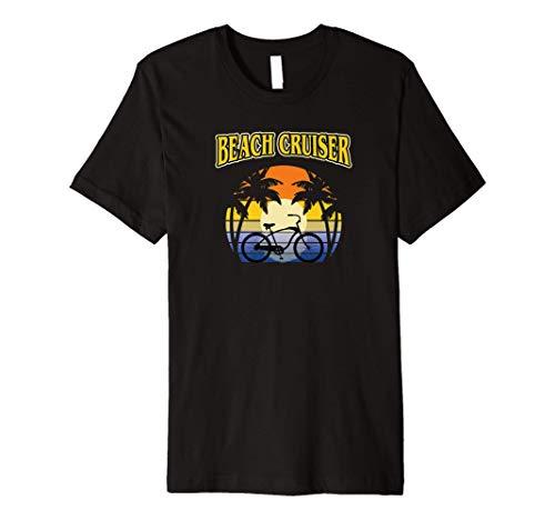Beach Cruiser Bicycle Riding Leisure Casual Bike Ride gift Premium T-Shirt