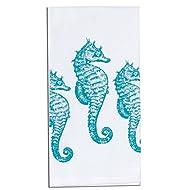 Kay Dee Designs Seahorses Coastal Krinkle Flour Sack Towel