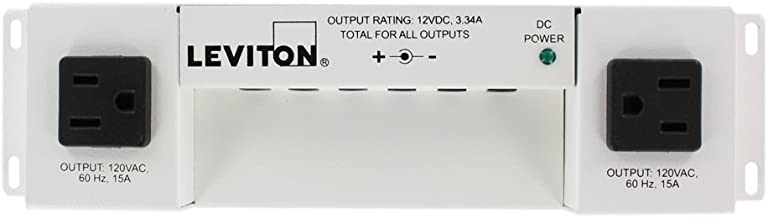 Leviton 47605-PSC Versatile Power Supply for Structured Media Cabinet