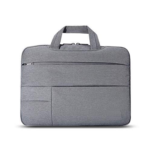 Laptop Bag Draagbare Mode Eenvoudige Hand Multi-Pocket Laptop Computer Draagtas Aktetas