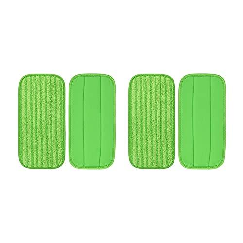 CUICUI QWHK Store - Almohadillas de limpieza lavables para trapos para trapeador Swiffer WetJet Barredora piso seco mojado trapo piezas de repuesto Accesorios