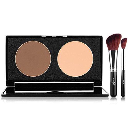SMX&xh Visage Ombrage Poudre Contour Surligneur Tondant Poudre Maquillage Visage Poudre 2 Couleur , 002