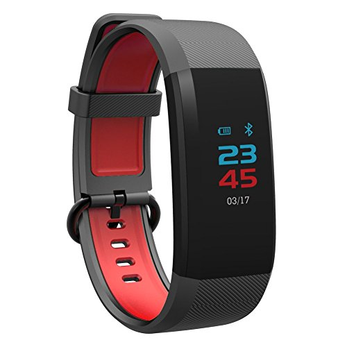Bluetooth Passover Smart Watch, Activity Fitness Tracker Heart Rate Monitor Wristband, Wearable Phone Android Watch for Men Women