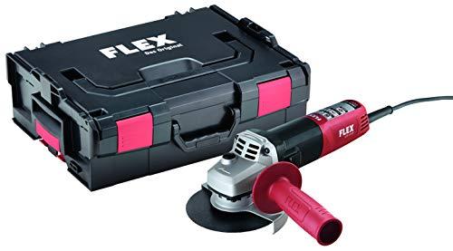 Flex LE 9-11 125 L-BOXX - Amoladora angular (11500 RPM, M14, Corriente alterna, 900 W, 600 W, 12,5 cm)