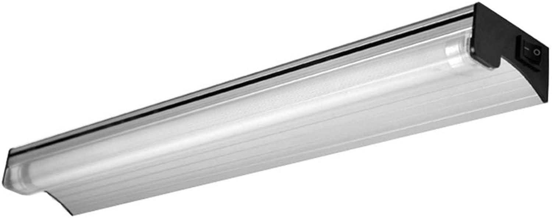 Bad Spiegellampe Spiegellampen Wandleuchte Schminklicht LED-Badezimmer Spiegelleuchte Bilden WC-Wandleuchte Mit Schalter ZHAOYONGLI (Farbe   Three-Farbe dimmable-72  3  7cm)