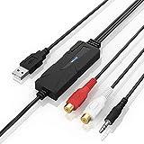 VTOP USB 2.0 Audio/Stereo Musique Capture Convertisseur - Capture Analogique...