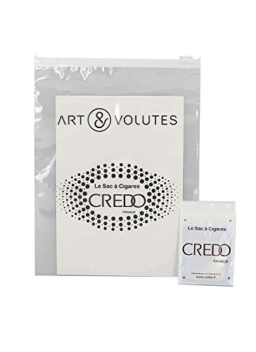 Crédo Sac humidificateur pour 10 à 15 cigares Art et volutes by
