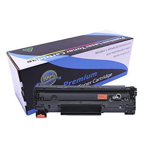 VKJF Cartucho de tóner compatible para impresora HP 35a LaserJet P1005 P1006, 1500 páginas, color negro