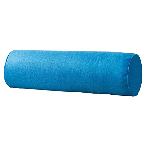 DASNTERED Cojín para el cuello – Cojín cervical redondo, cojín cilíndrico con forma de rollo, cojín antidolorifico para el coche para sofá cama
