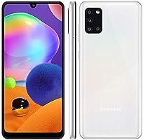Samsung Galaxy A31 Branco, Tela de 6,4, 4G, 128GB e Camera de 48MP + 8MP + 5MP + 5MP